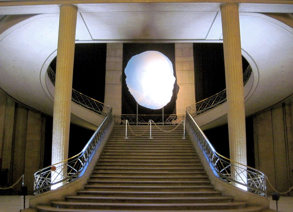 Stairs Of Palais D 39 I Na 1937 In Paris 16th By Auguste Pe Flickr