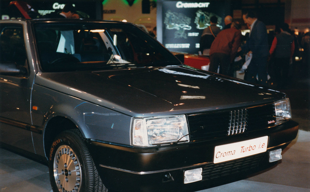 Fiat Croma Turbo I E 1986 Birmingham Nec Motorshow Flickr