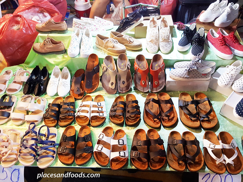 Talad Rod Fai 2 Bangkok Ratchada ladies shoes