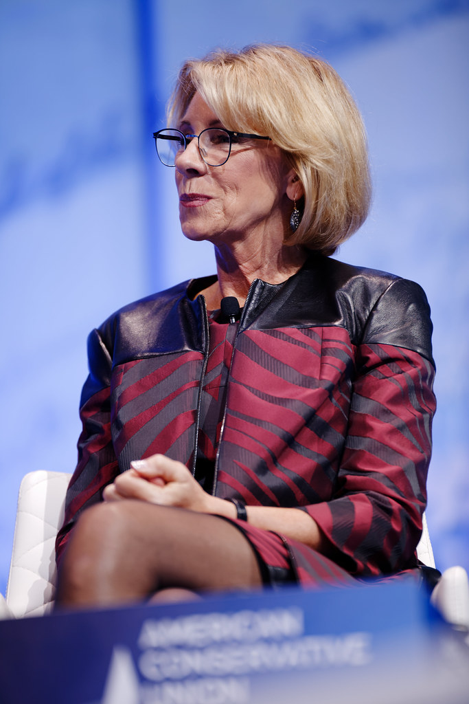 Secretary Of Education Betsy Devos At Cpac 2017 Feb 23rd 2