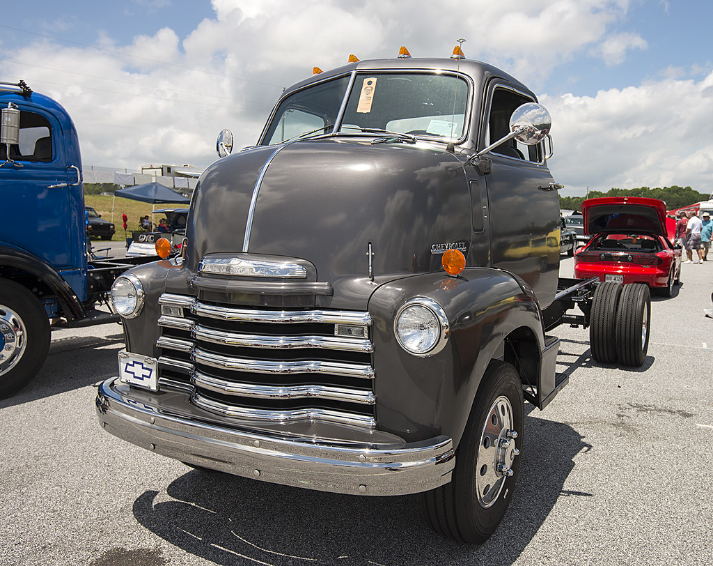 1950 Chevy cabover | Very nicely done truck. At the NMCA Che… | Flickr