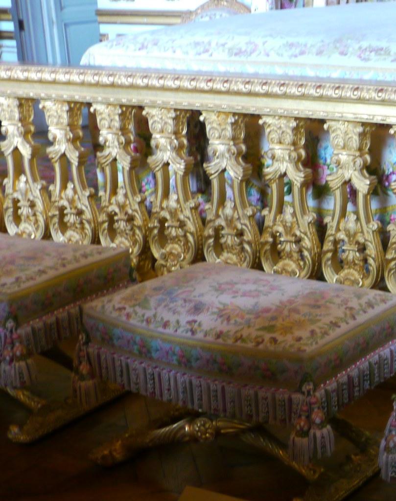 Versailles yvelines la chambre de la reine au 1er tage for Chambre de la reine versailles