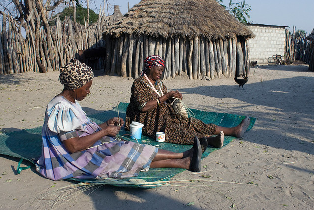 African Basket Weaving Art