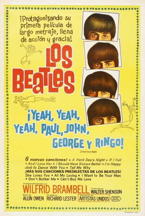 beatles_harddays_spanishposter