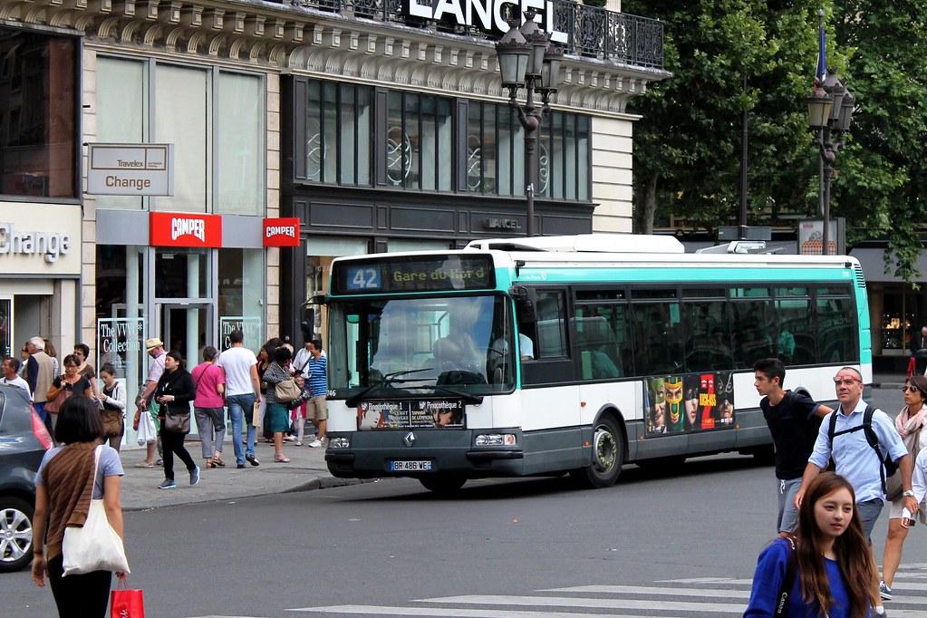 ratp paris bus 7746 42 hopital europeen georges pompidou flickr. Black Bedroom Furniture Sets. Home Design Ideas