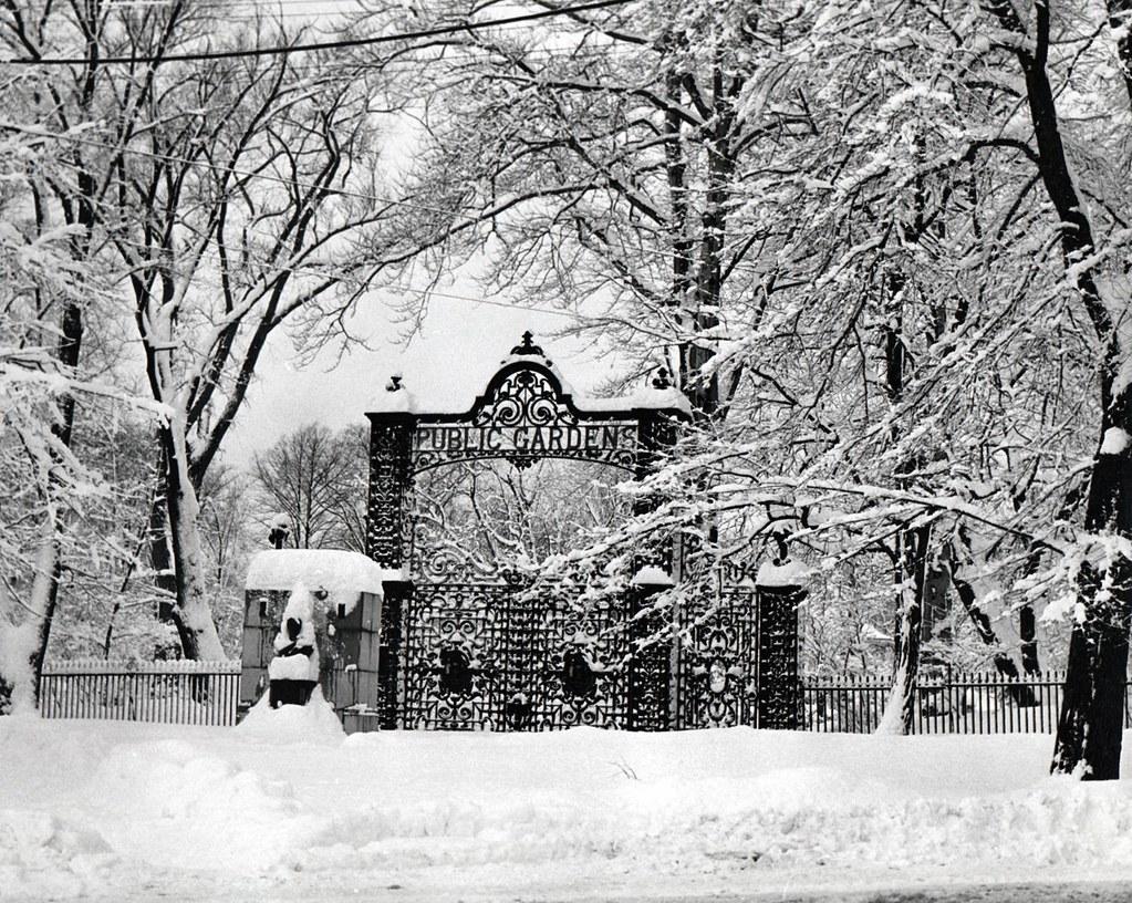 Halifax public gardens december 25 1947 nova scotia archives flickr for Winter gardens elementary school