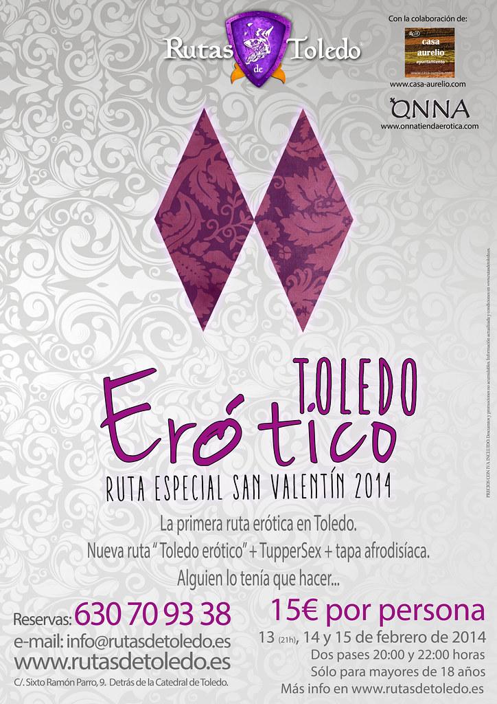Toledo erótico, cartel de 2014