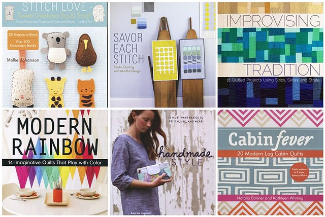 favorite books at Connecting Threads {giveaway}