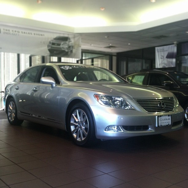 Lexus 2008 Ls460 For Sale: This Pre-owned 2008 #Lexus LS 460 Is So Nice We Have It On
