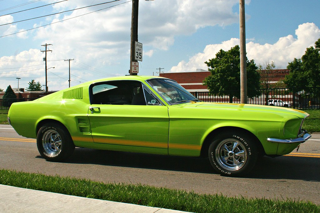Lime Green 1968 Mustang Mitch Prater Flickr