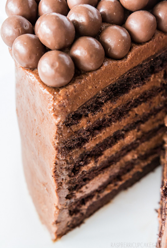 Layer Chocolate Mousse Cake Recipe