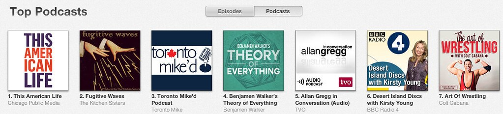 Toronto Mike'd podcast ranks #3 in iTunes