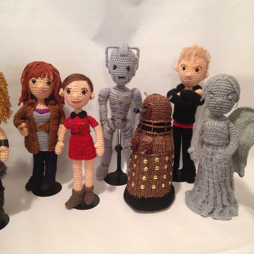 Doctor Who Crochet Amigurumi from CraftyIsCool - Companions & Foes