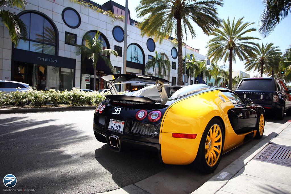 Bijan S Bugatti Veyron Mansory In Beverly Hills Bijan S
