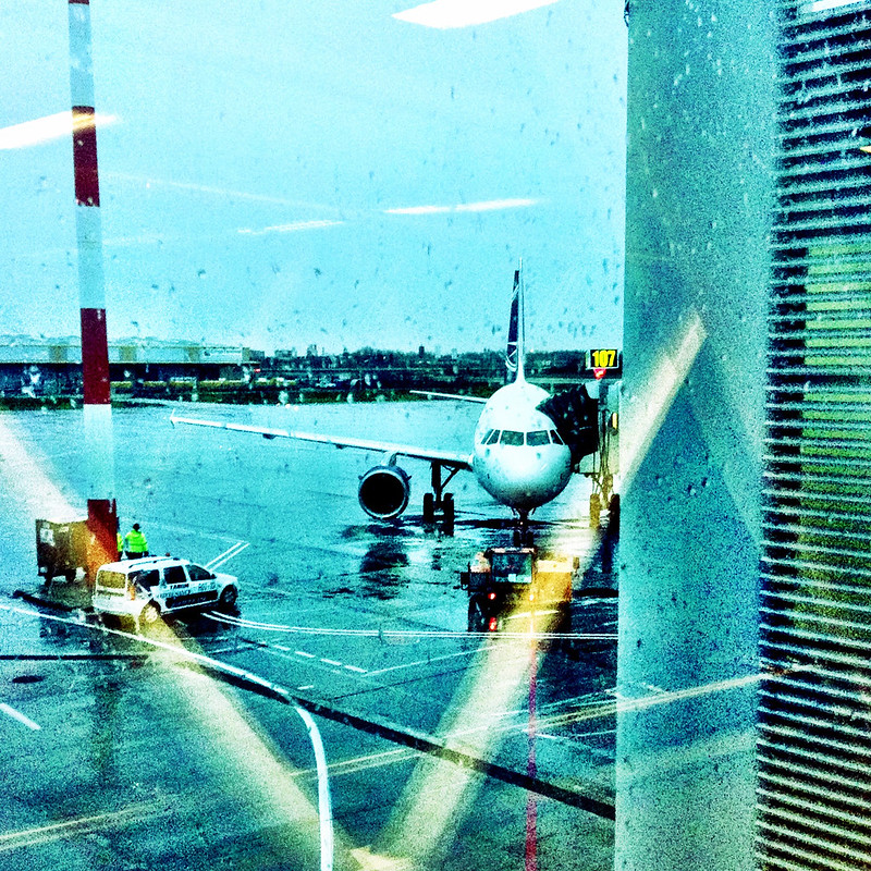 Flying to Istanbul