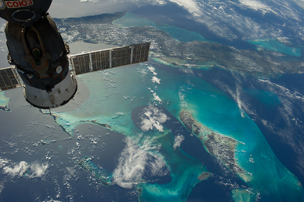 Cuba and the bahamas nasa international space station 1 for Space station 13 3d