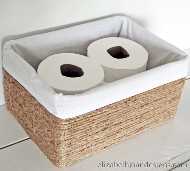 Make a Custom Basket Liner