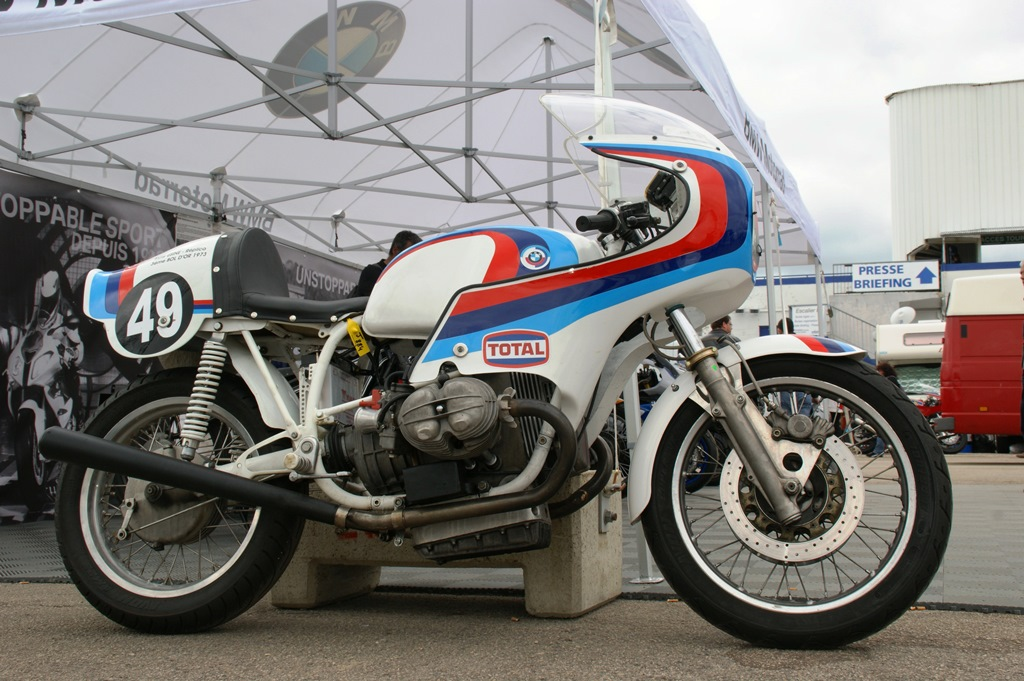 BMW 900 R90S (1975, Jean-Luc Challemet), Bol d'Or 1973 rep ...