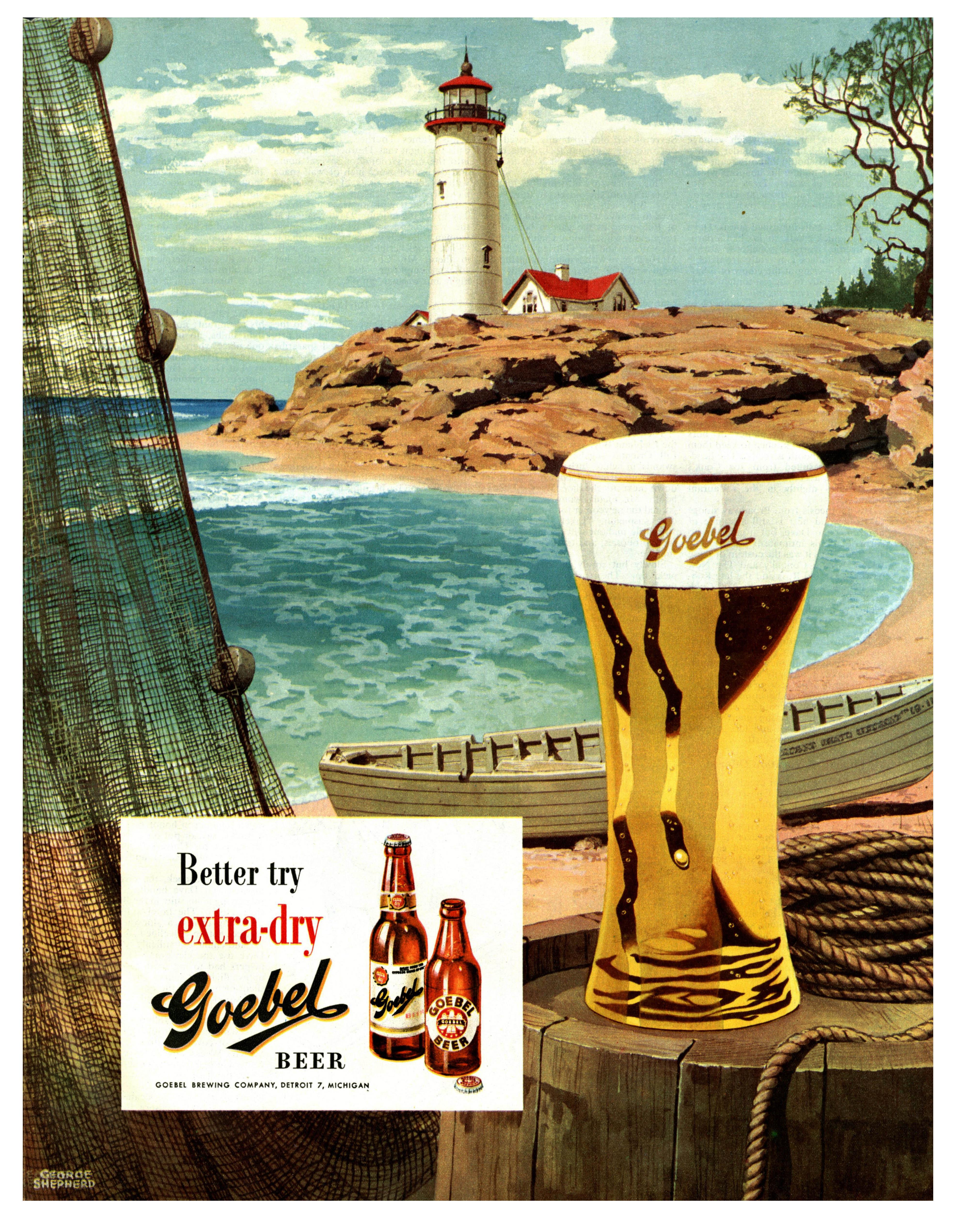 Goebel Beer - 1949