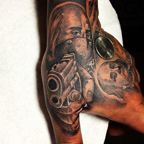tadayz tattoo fun piece benjamin benjaminfranklin onehund flickr. Black Bedroom Furniture Sets. Home Design Ideas