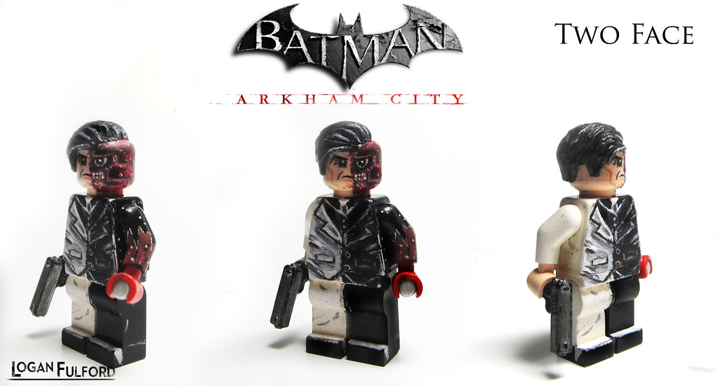 Two Face ~ Arkham City | Two Face as he appears in Arkham ...