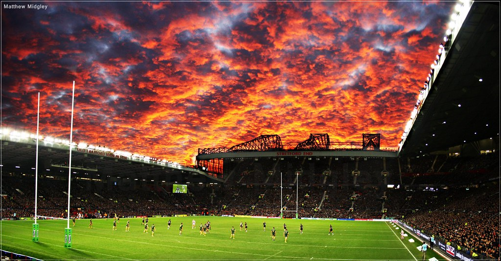 Old Trafford Sunset