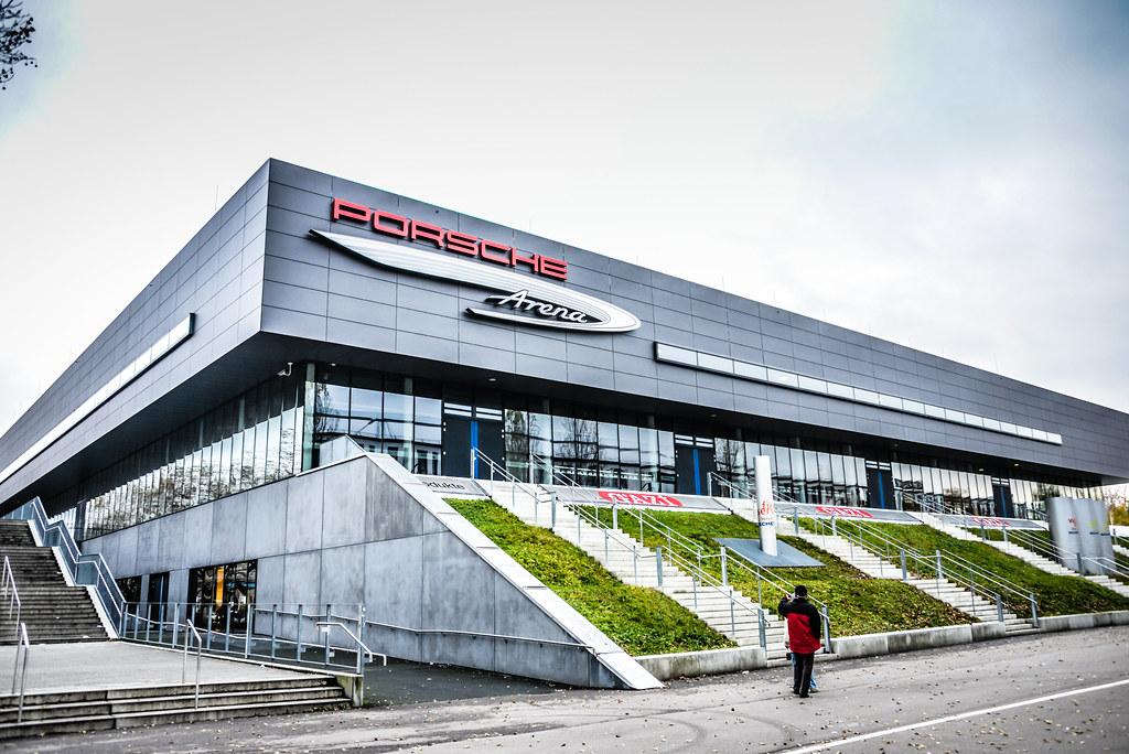 Porsche Arena Stuttgart Germany Porsche Arena Stuttgar Flickr