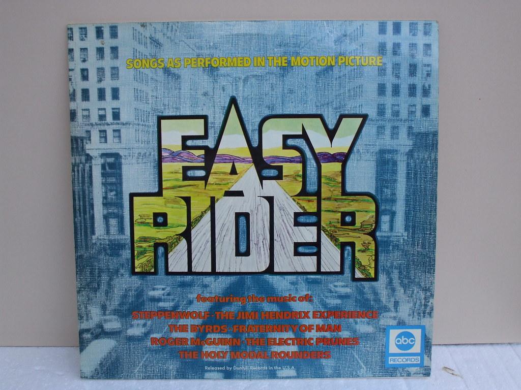 Easy Rider Vinyl Lp Classic 60 S 70 S Album Cover Easy