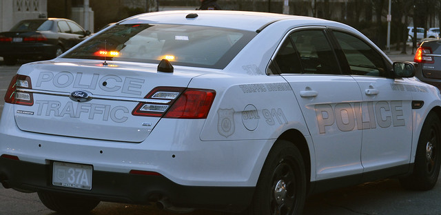 Picture Of New City Of White Plains New York Police Department Car 37a 2013 Ford Taurus Police