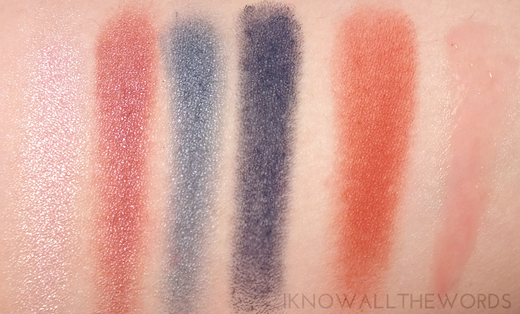 sephora collection iconic looks makeup palette swatches + urban chic eye look (4)