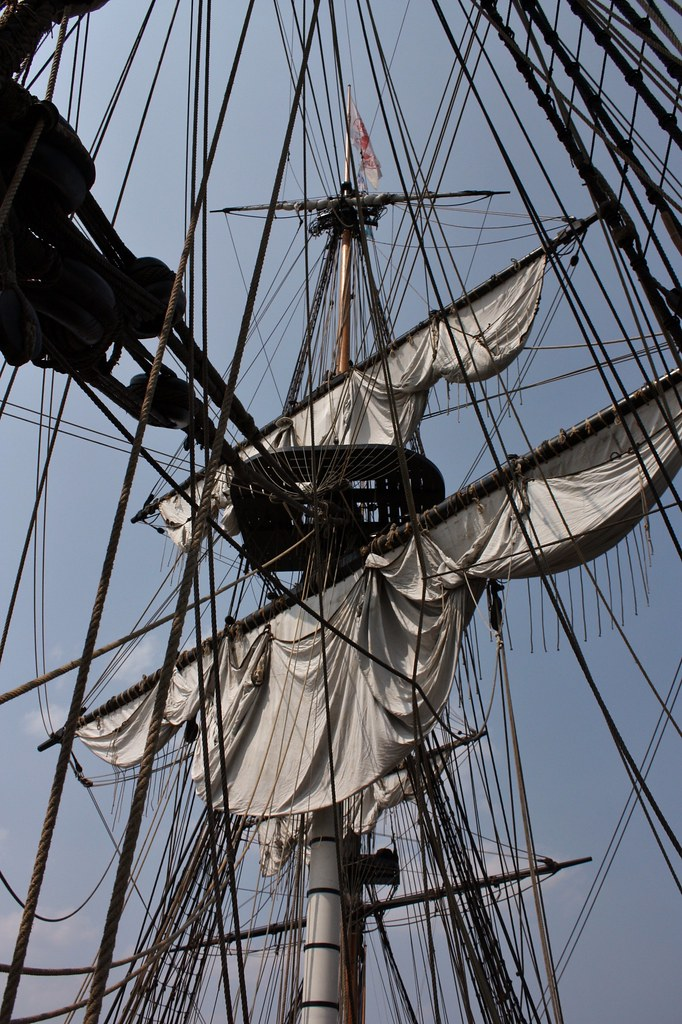 Hermione Rigging and ropes