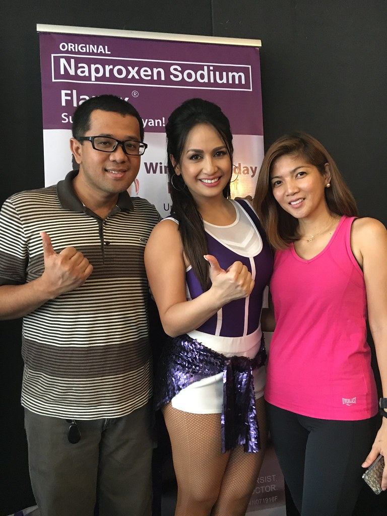 WitH Regine Tolentino and my friend Rochelle Romero at the Launch