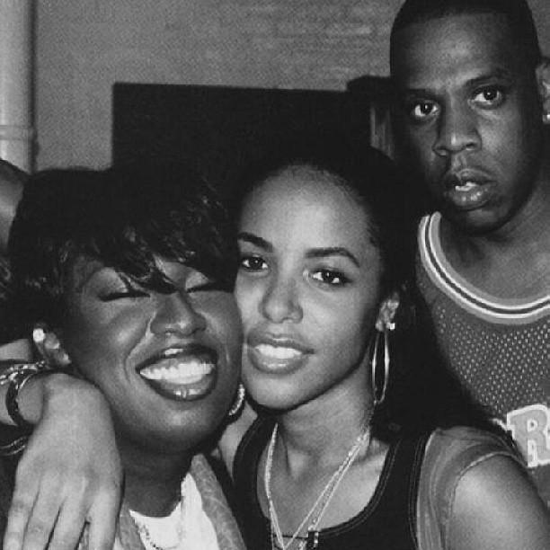 MISSY ELLIOTT     AALIYAH  RIP     JAY-Z  Instagram   Flickr - Photo    Aaliyah And Missy Elliott