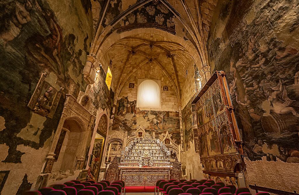 Interior de la catedral de zamora la catedral de zamora for Catedral de zamora interior