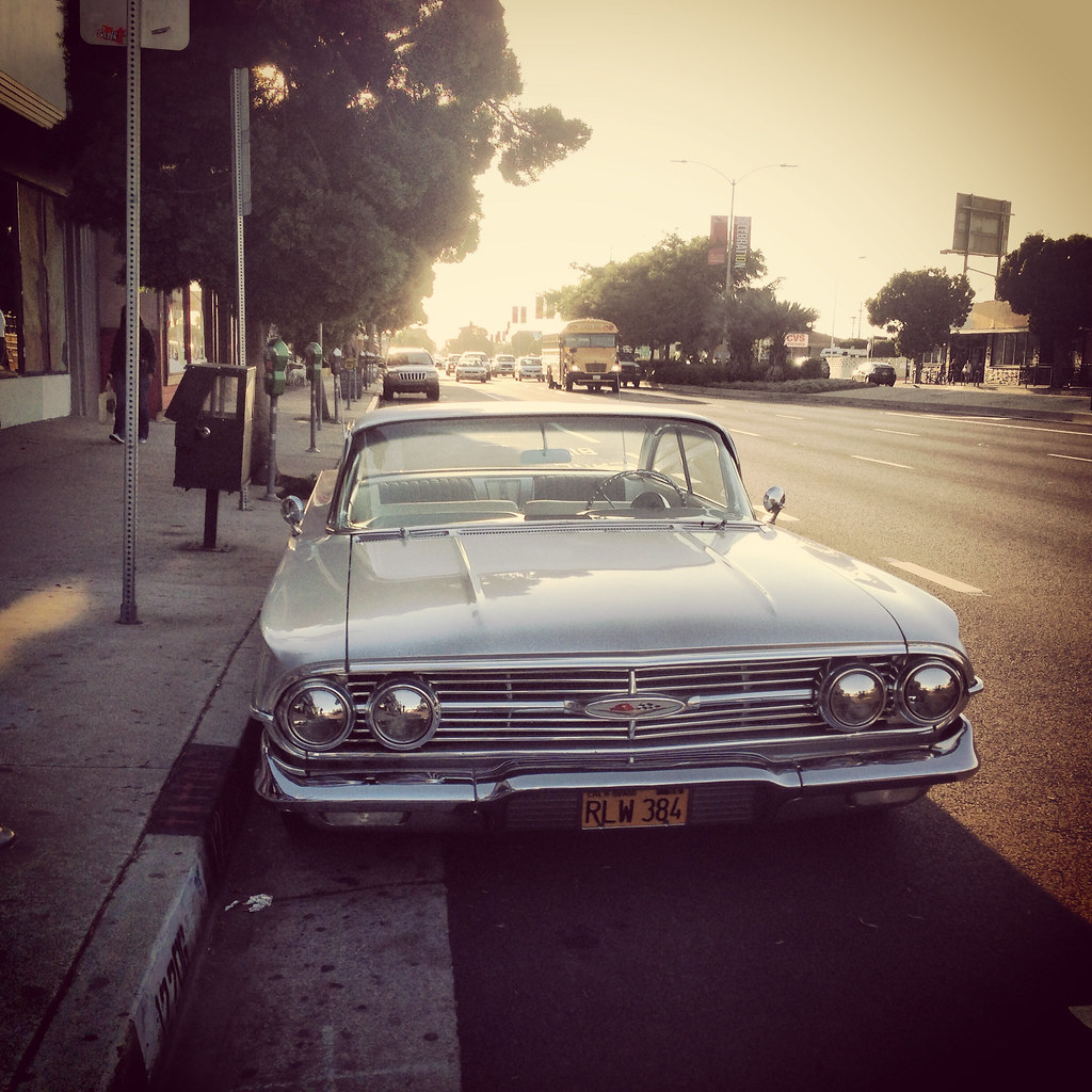 classic car on venice boulevard los angeles california flickr. Black Bedroom Furniture Sets. Home Design Ideas