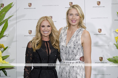 Photo of Maria Sharapova & her friend  Sonia Kruger