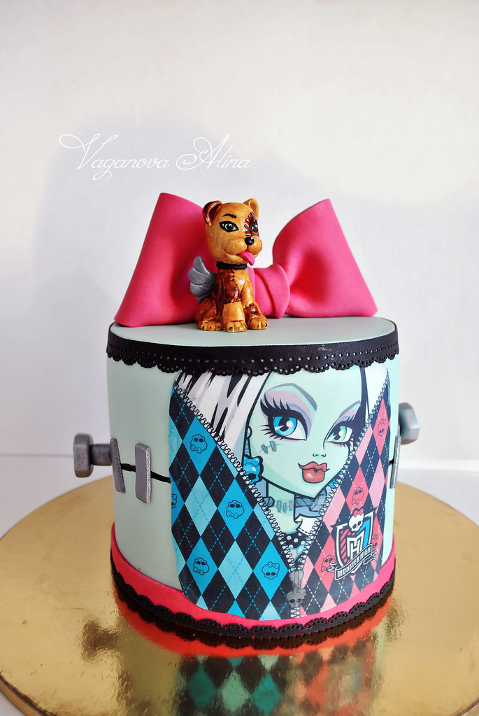 Monster High Cake Decorating Games