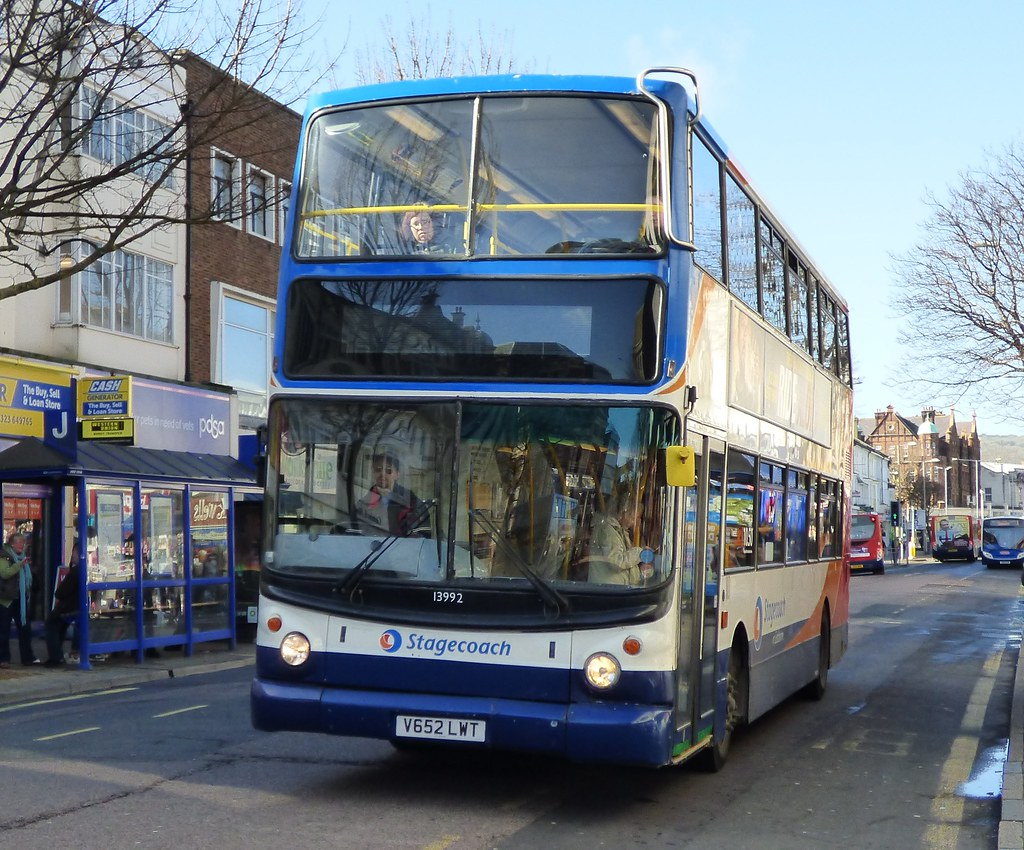 Stagecoach eastbourne 13992 v652 lwt eastbourne 22 2 14 for Time table bus 99
