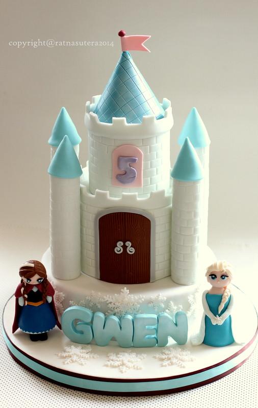Frozen Castle Cake Ideas