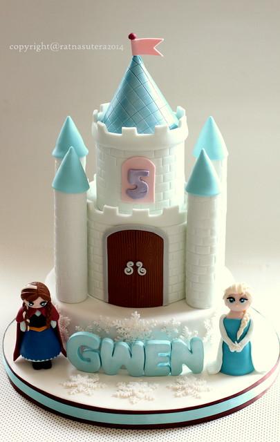 Frozen Castle Cake Flickr Photo Sharing