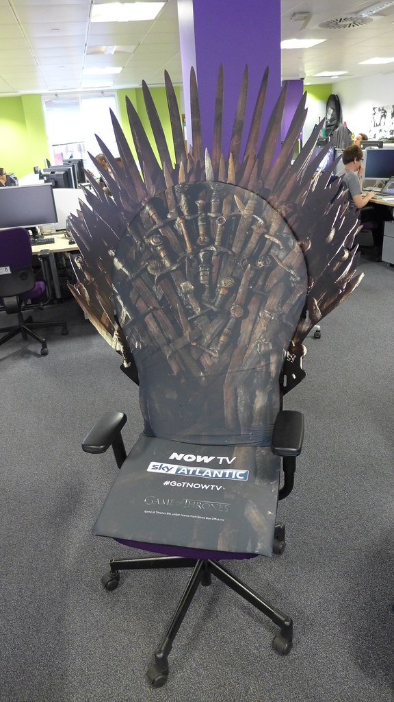 Game Of Thrones Office Chair Erik Hartberg Flickr