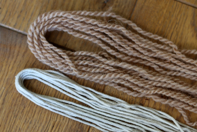 Yarn Naturally Dyed with Lichen