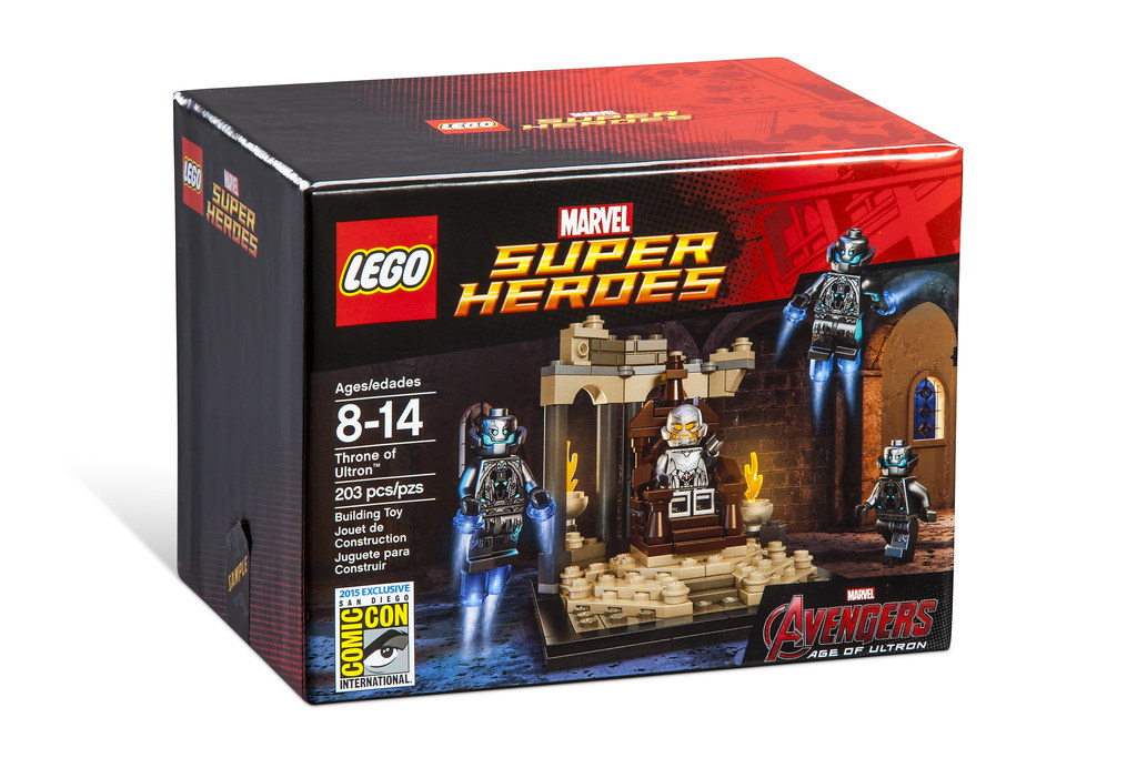 Video Review: LEGO Marvel Super Heroes SDCC 2015 Throne of Ultron 19293923702_1031859055_b