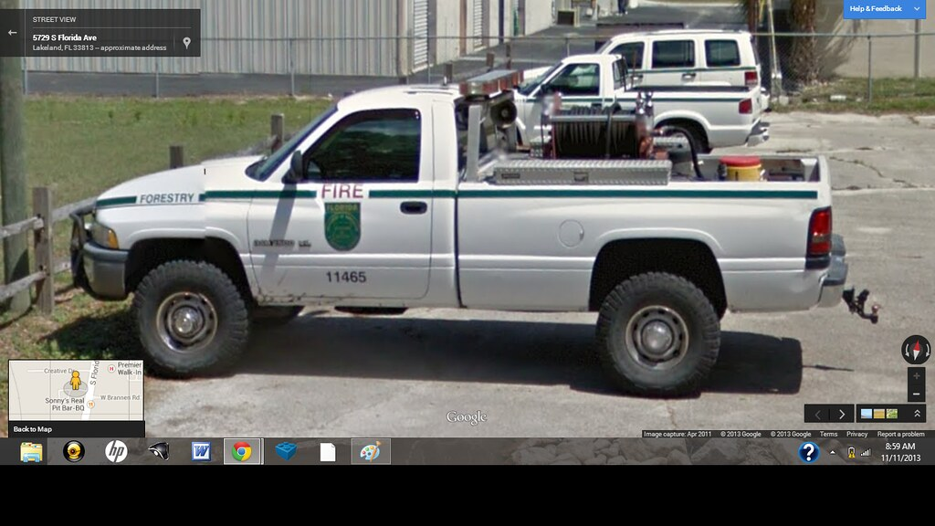 Florida Forestry Dodge Ram Brush Truck Type 7 Or Type 6