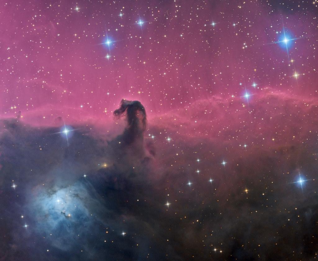 nebula in orion the horsehead nebula -#main