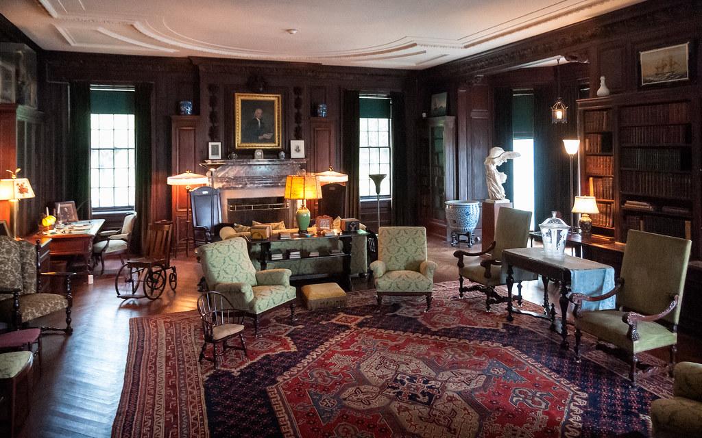 Franklin delano roosevelt national historic site c 1800 for Home interior website