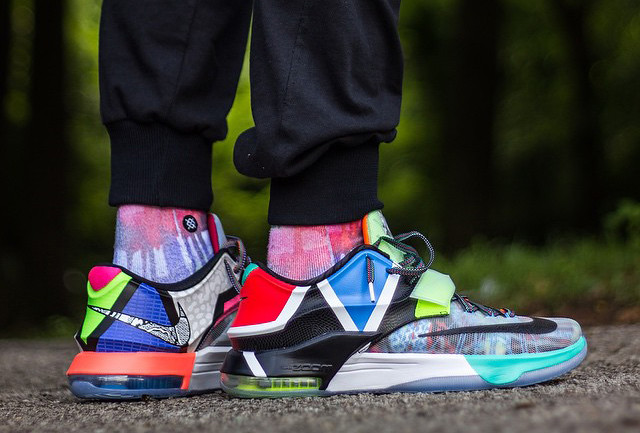 On Feet Look at the Nike KD 7 'What The' 2