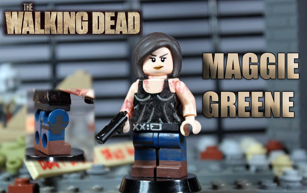 custom lego the walking dead season 4 maggie greene. Black Bedroom Furniture Sets. Home Design Ideas