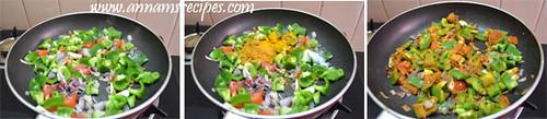 Chettinad Capsicum Curry