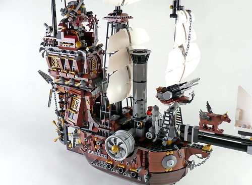 70810 MetalBeard's Sea Cow 606